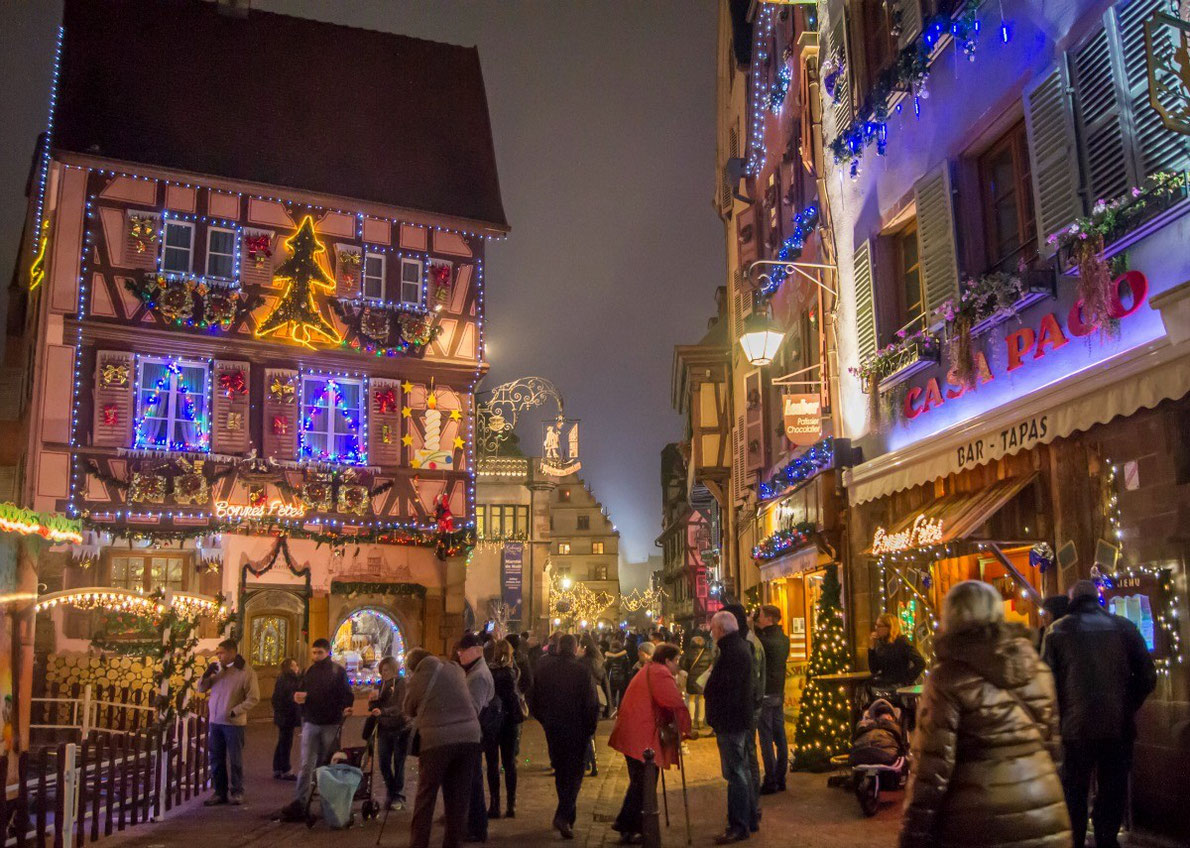 christmas market in colmar - Best Christmas Getaways
